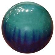 "10"" Ceramic Gazing Globe, Blue"