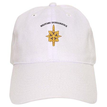 Cafepress   Military Intelligence   Printed Adjustable Baseball Cap