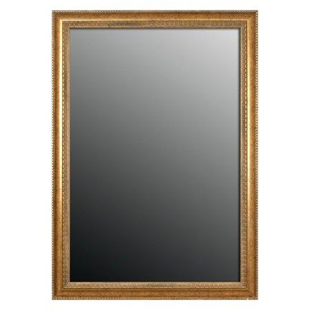 Second Look Mirrors Grecian Beaded Sun Gold Wall Mirror