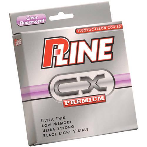 P-Line CX Clear Fluorescent 15#/300 Yard Spool
