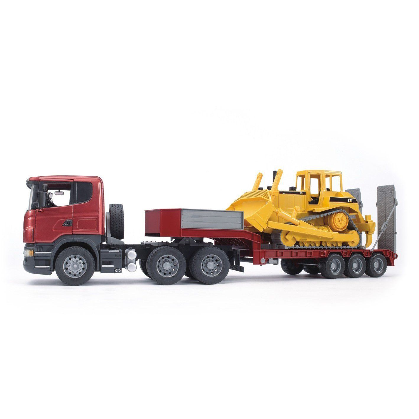 Scania Loader with Dozer - Vehicle Toys by Bruder Trucks ...