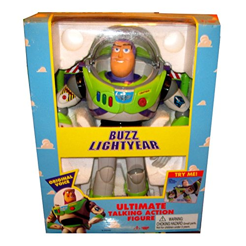 Toy Story Buzz Lightyear Ultimate Talking Action Figure by