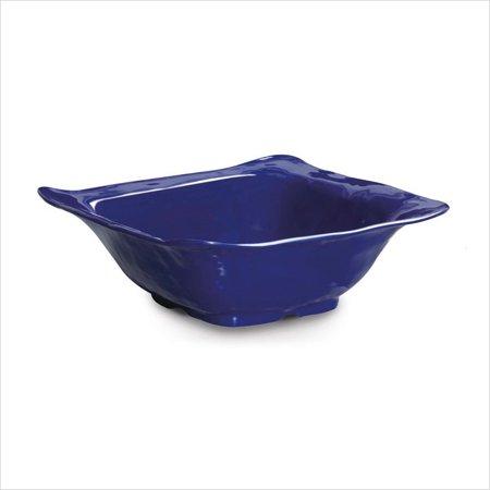 New Yorker 6 qt 15 x 5 Square Bowl Cobalt Blue Melamine/Case of -