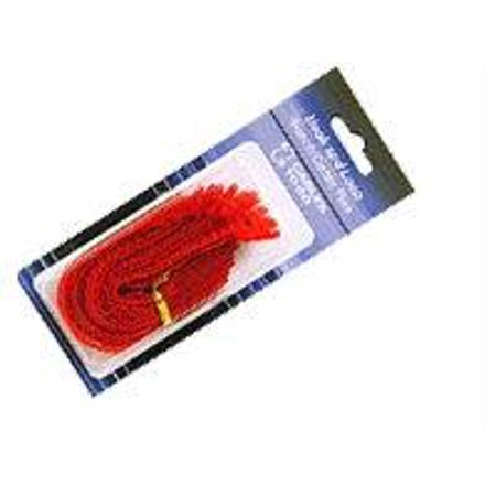 12pk 6in Velcro Cable Straps Red Nylon