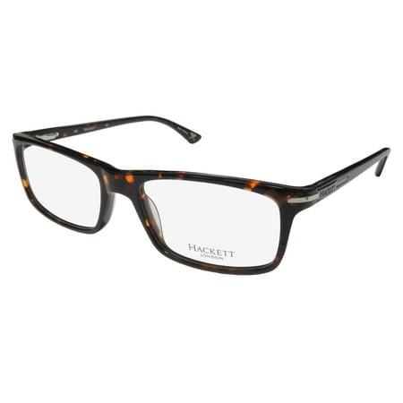 New Hackett Hek1130 Mens Designer Full-Rim Tortoise European Design Fabulous Hip Frame Demo Lenses 54-18-145 Spring Hinges (Eyeglasses Online Europe)