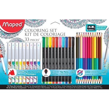 Maped Coloring Set 33pc](Coloring Set)