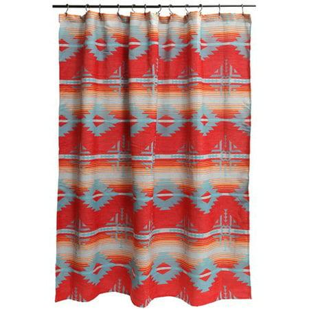 Loon Peak Ilene Single Shower Curtain