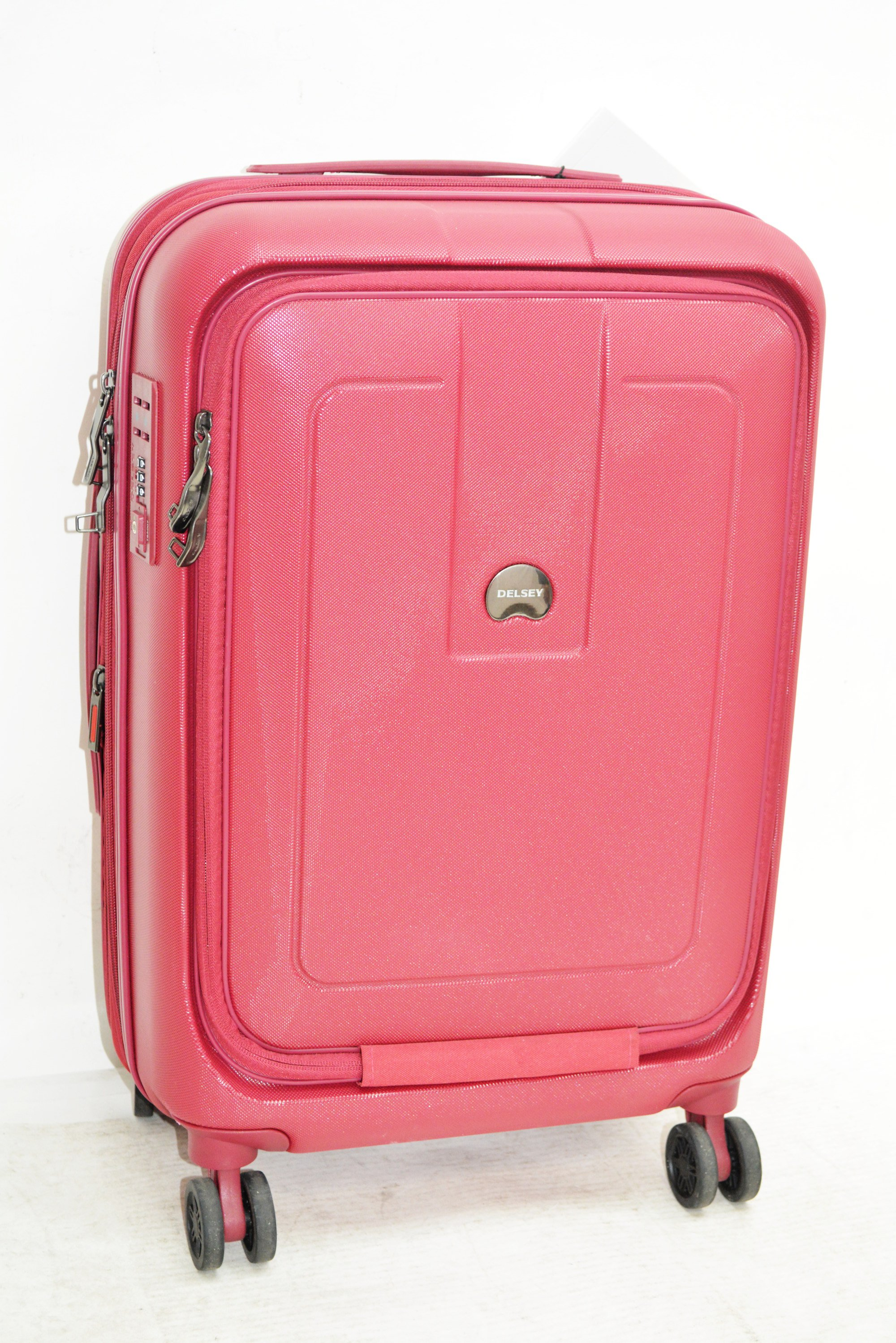 """5aa2e8b49 Delsey Helium Shadow 4.0 21"""" Hardside Spinner Suitcase Carry-On Pink -  Walmart.com"""