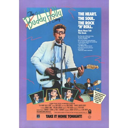 The Buddy Holly Story (1978) 11x17 Movie (Buddy Holly Glasses For Sale)