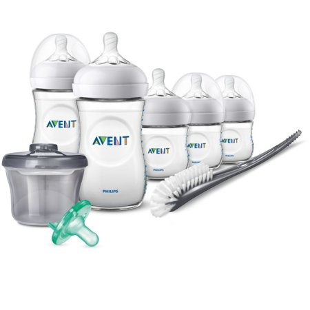Philips Avent Natural Baby Bottle Newborn Starter Gift Set, SCD206/02