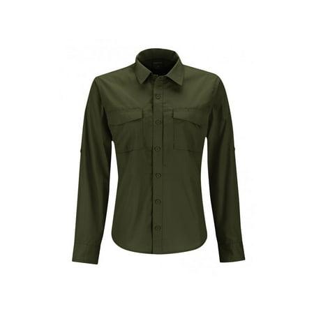 Nyco Ripstop Shirt - Propper Women's Poly Cotton Ripstop Tactical Uniform REVTAC Shirt -Long Sleeve