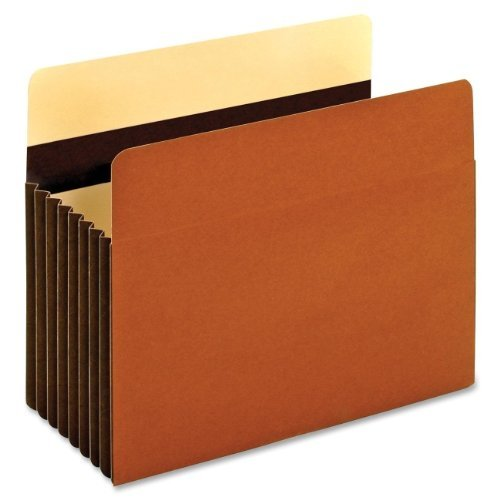 "Globe-Weis® Redrope File Pocket 7"" Expansion Letter 5/Box"