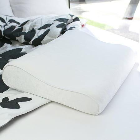 Dream Serenity Standard Contour Memory Foam Pillow 1 Each