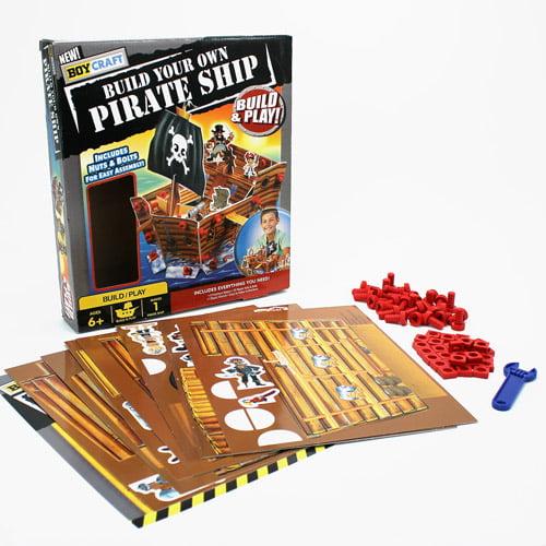 Boys Craft Pirate Ship