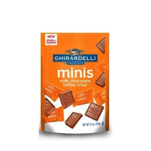 Ghirardelli Milk Chocolate Caramel Minis 4. 6Oz (Pack of 6)
