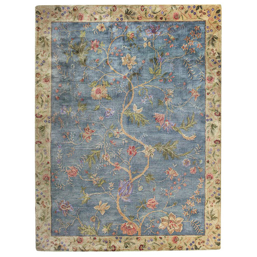 Capel Rugs Garden Farms Blue Area Rug