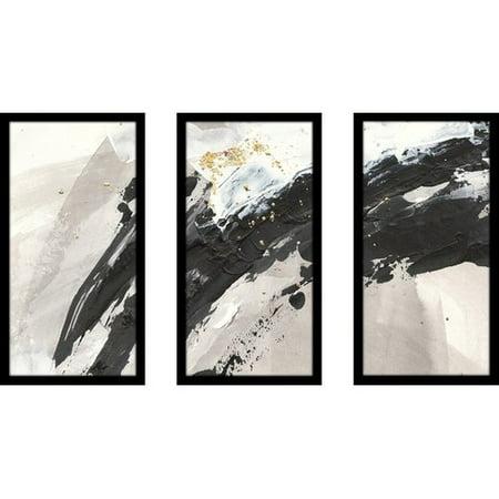 Orren Ellis 'Galaxy I' Acrylic Painting Print Multi-Piece Image on Glass