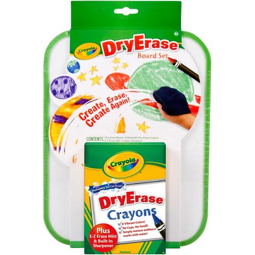Crayola Dry Erase Crayons Board Set