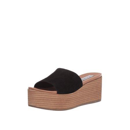 f94a8c0a9ac Steve Madden - Steve Madden Heated Women s Open Toe Platform Wedge Sandals  - Walmart.com