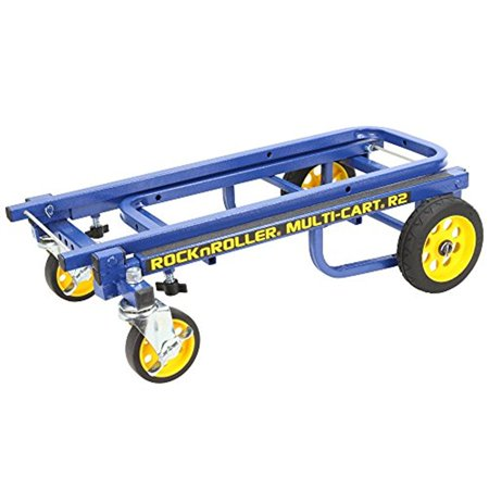 Rock n Roller R2RT Blue Stage and Studio Equipment Cart