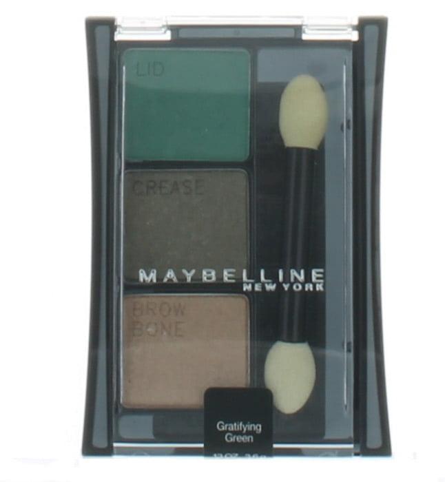Gratifying Green by Maybelline for Women Eye Shadow Trio 0.13 oz. New in Box