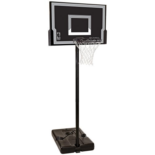 Spalding 44 Inch Eco Composite Portable Basketball Hoop System