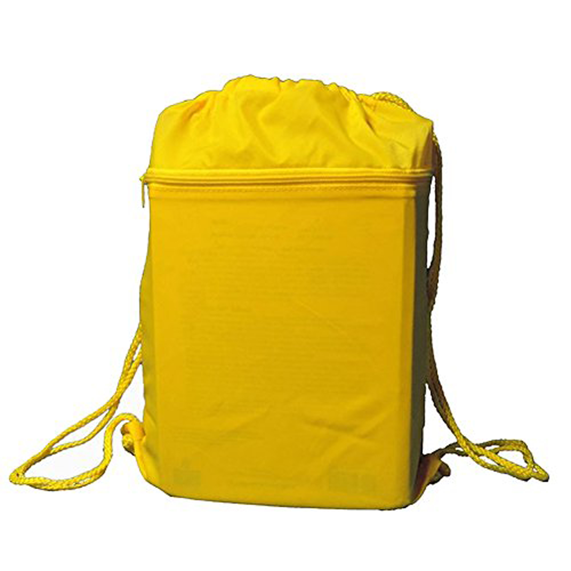 Yellow Drawstring Cinch Sports Travel Bag by Everest