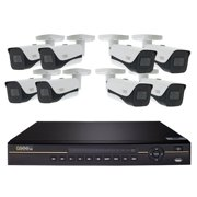 New Q-See QCK81-8HF-2 8 Channel 4K IP 2TB NVR Security System w 8 4K Cameras
