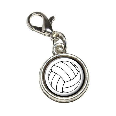 Volleyball Bracelet Charm](Volleyball Charm Bracelet)