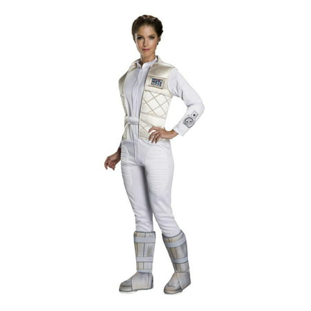 Star Wars Classic Princess Leia Hoth Adult Costume - Princess Jasmine Costume Adults