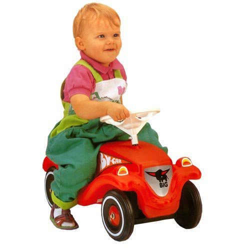 Big Bobby Classic Car Riding Push Toy