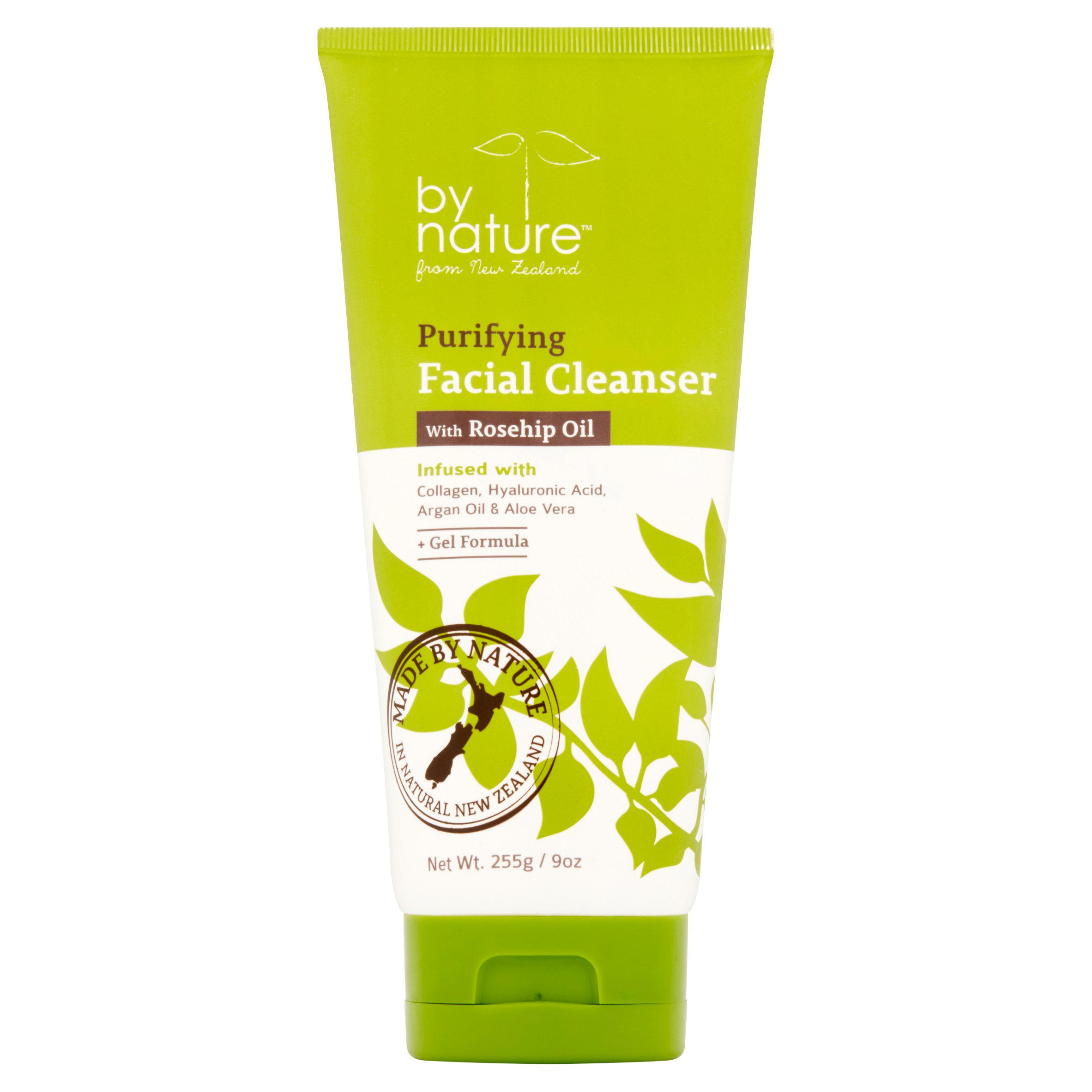 By Nature Purifying Facial Cleanser with Rosehip Oil, 9 oz