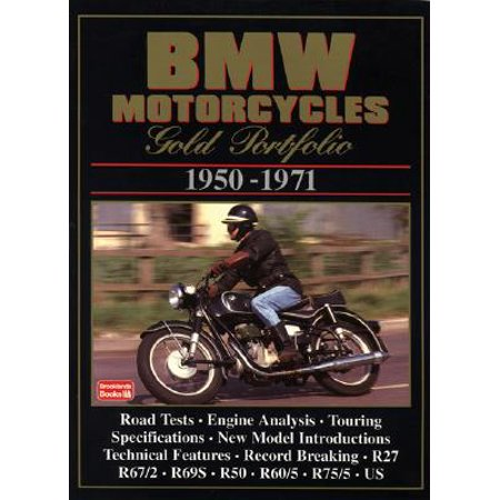 BMW Motorcycles 1950-71 Gold Portfolio
