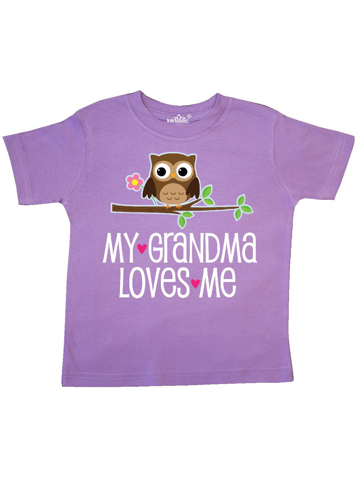 inktastic My Nonna is The Best Toddler T-Shirt