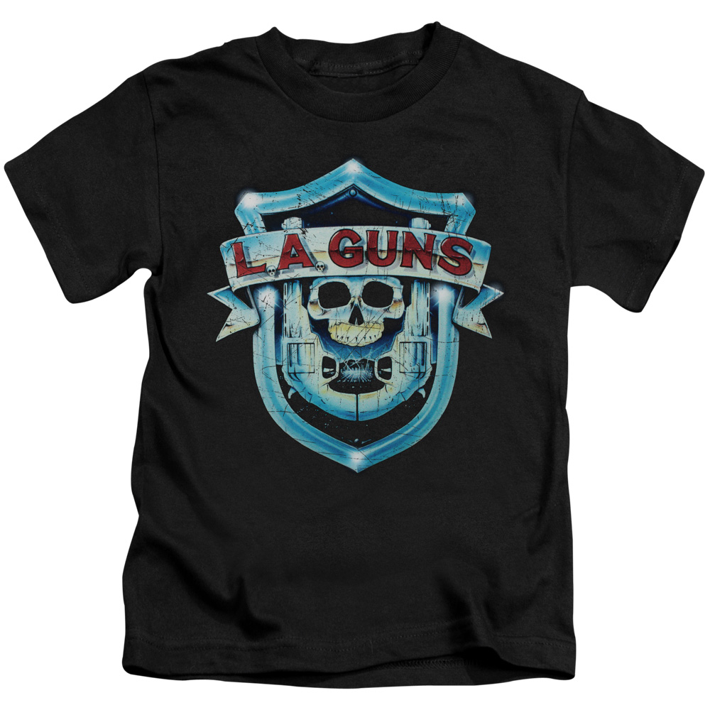 La Guns La Guns Shield Little Boys Shirt