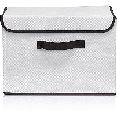 Furinno Non-Woven Fabric Soft Storage Organizer with Lid, Multiple Colors