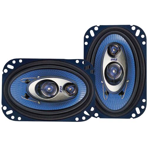 "Pyle PL63BL Blue Label 3-Way 6.5"" Triaxial Speakers"