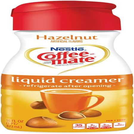 COFFEE-MATE Hazelnut Liquid Coffee Creamer 16 fl. oz ...