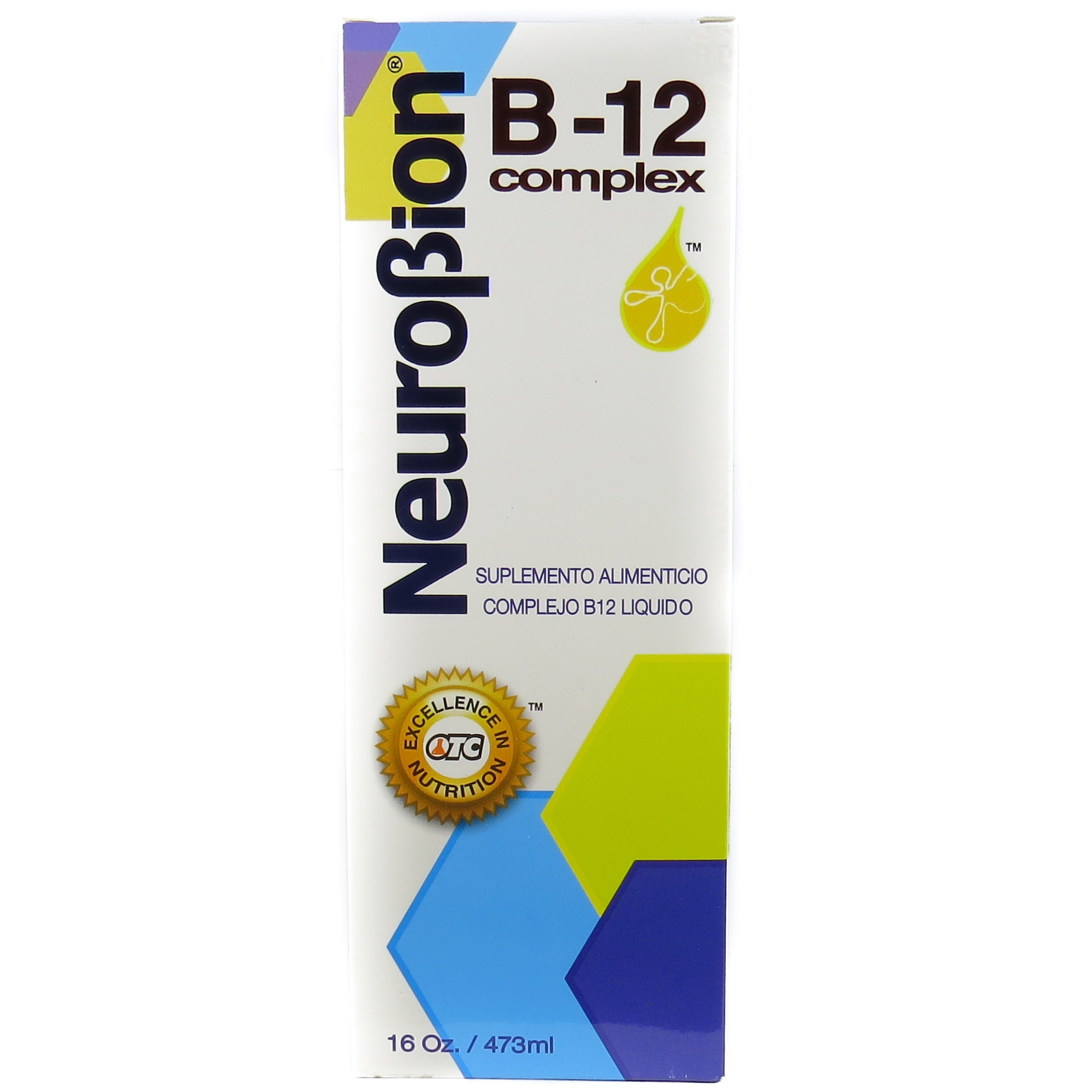 Neurobion Vitamin B12 Complex 16 Oz Liquid Citrus Flavor
