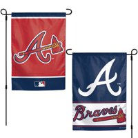 "Atlanta Braves WinCraft 12"" x 18"" Double-Sided Garden Flag"