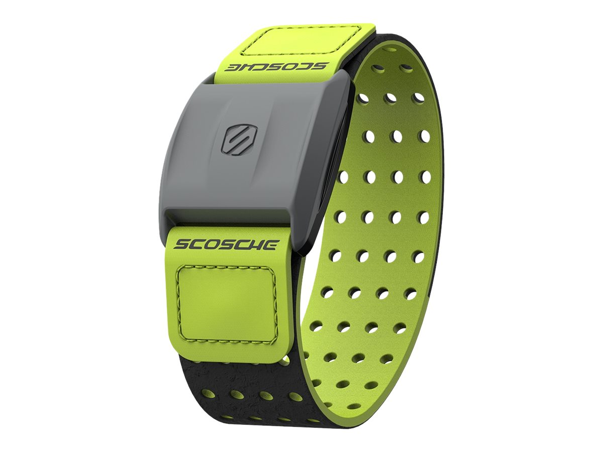 Scosche RHYTHM Authorized Reseller Heart Rate Monitor Black