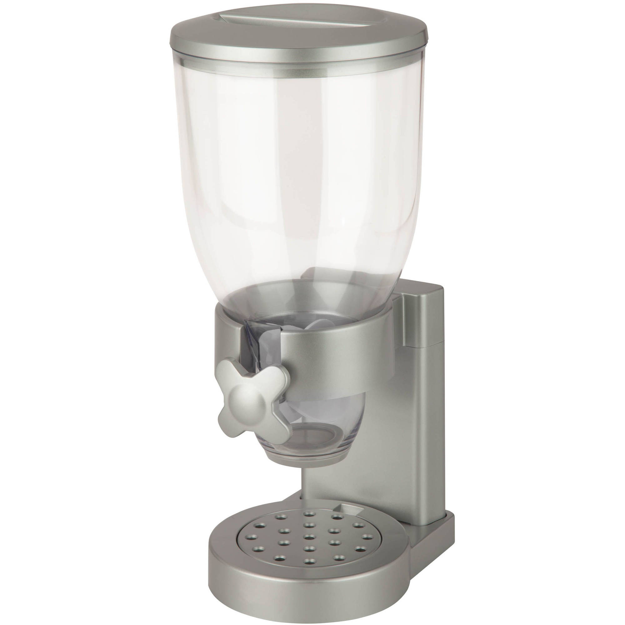 Zevro Original Indispensable Single 17.5 oz Dispenser, Silver/Chrome