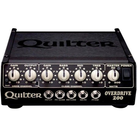 Overdrive Head (quilter overdrive 200 200w guitar amp)