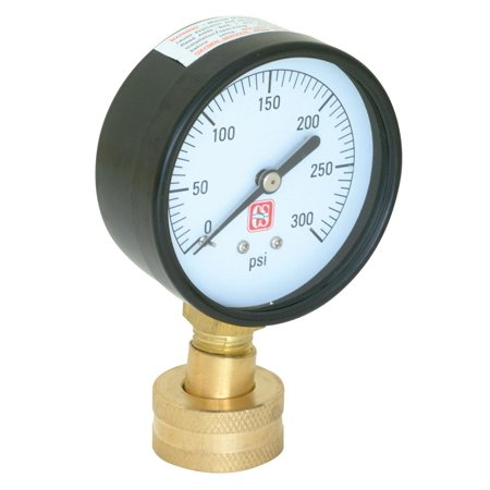 Ez-Flo 45169 Water Pressure Test Gauge 2-1/2'