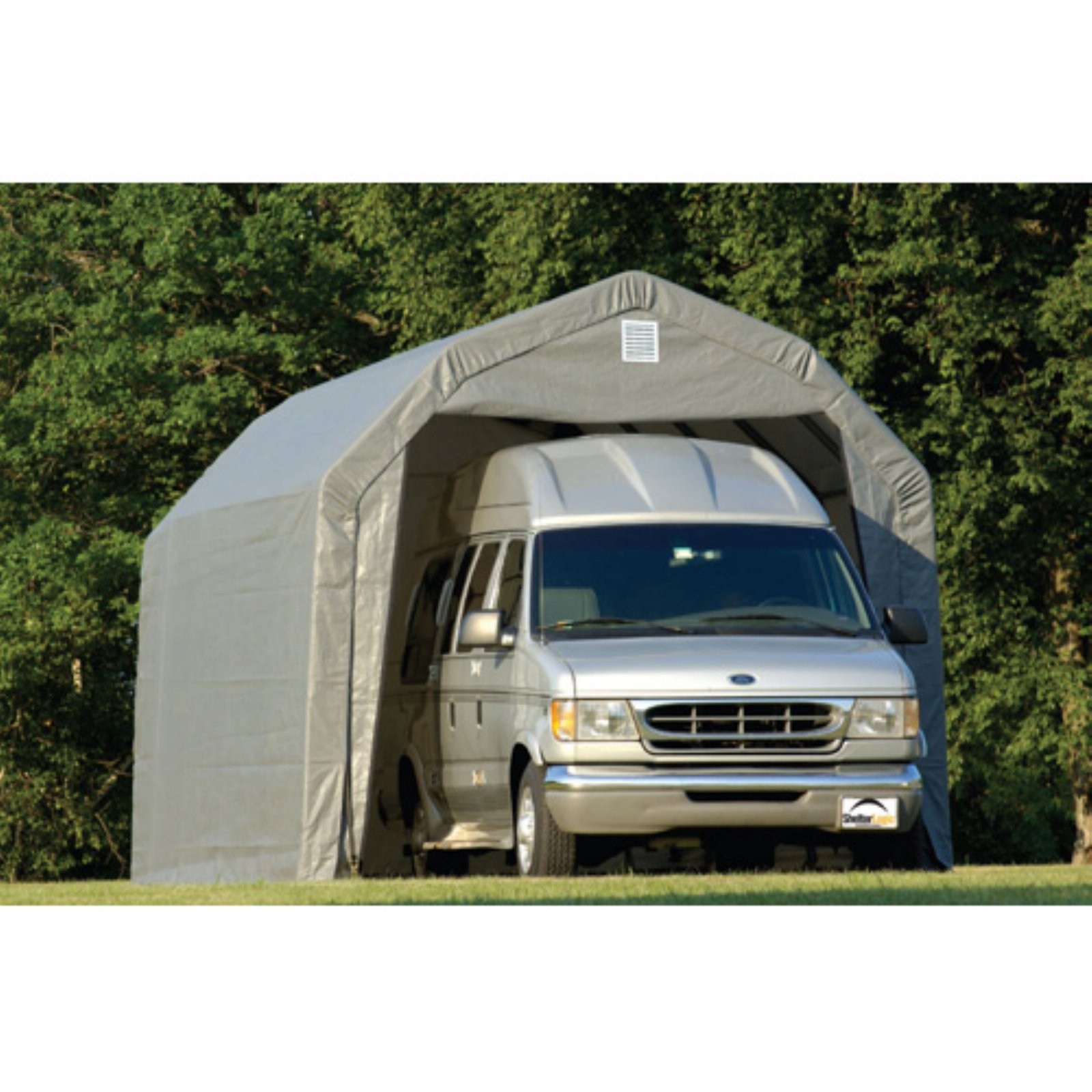 12' x 24' x 9' Barn Style Shelter, Green