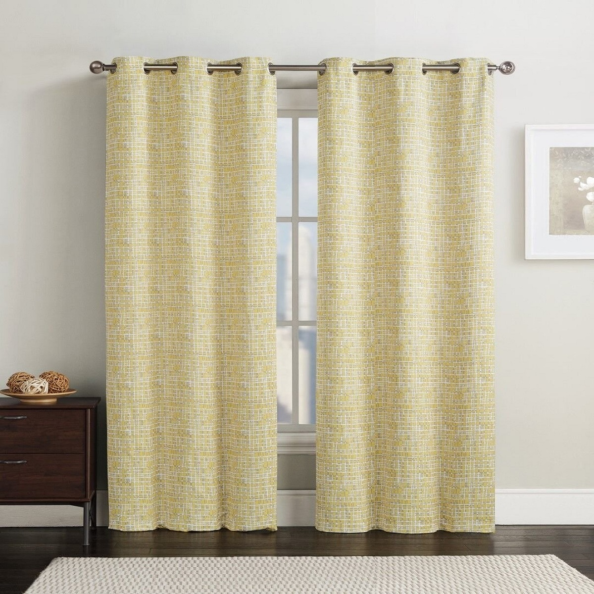 Lenox Thermal Room Darkening Curtain Panels With Grommets