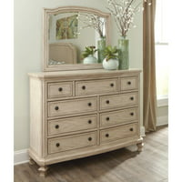 Signature Design by Ashley Demarlos 9 Drawer Dresser with Optional Mirror