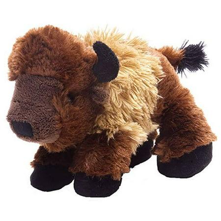 Wild Republic Bison Plush, Stuffed Animal, Plush Toy, Gifts for Kids, Hug'Ems 7