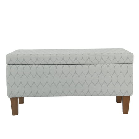 HomePop Large Storage Bench, Multiple Colors
