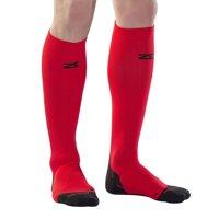Zensah Tech+ Compression Socks-Medium-Red